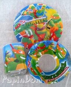 Набор детской посуды Черепашки Ниндзя