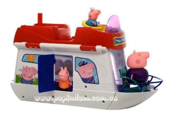 Яхта свинки Пеппы