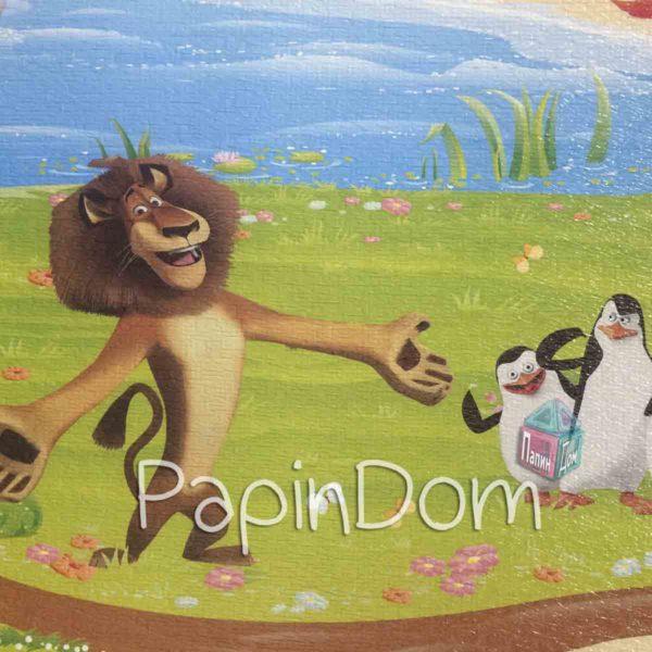 Коврик детский Киндер Мадагаскар