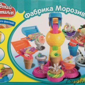Набор для лепки Пластилин Фабрика мороженного