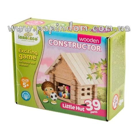 конструктор из дерева домик
