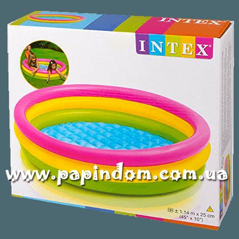 Детский надувной бассейн Intex 57412