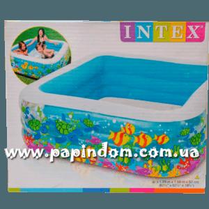 Семейный надувной бассейн Intex 57471