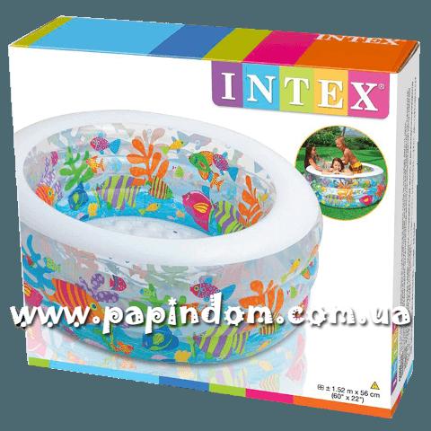 Детский надувной бассейн Intex 58480