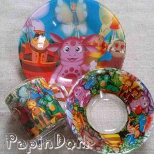 Набор детской посуды Лунтик
