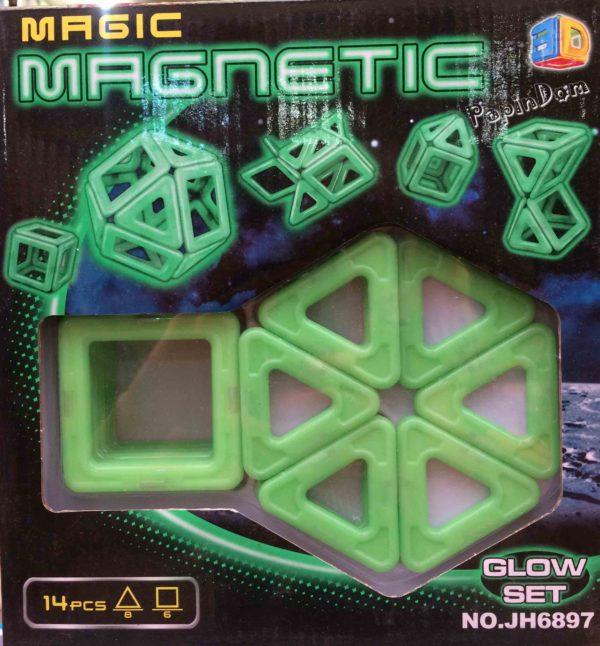 Конструктор магнитный светонакопительный