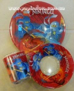 Набор детской посуды Ninjago