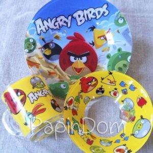 Набор детской посуды Angry Birds