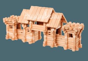 Конструктор из дерева Въездные ворота