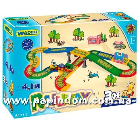 Игровой набор Wader 51711 Детская железная дорога