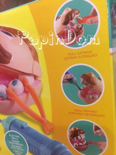 Пластилин Веселый стоматолог - зубастик - Doctor drill
