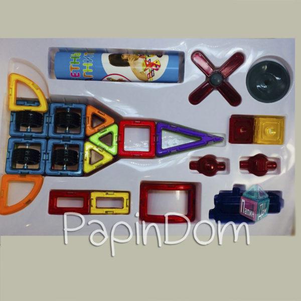 Цветные магниты, 54 деталей