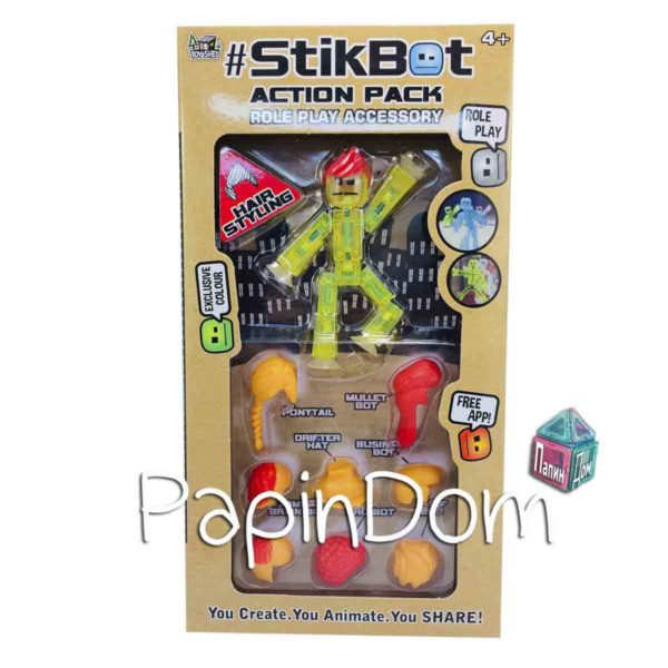 StikBot Человечек-Стикбот+прически