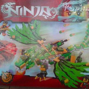Lego Зеленый дракон