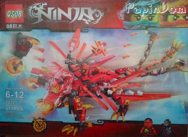 Lego Красный Дракон