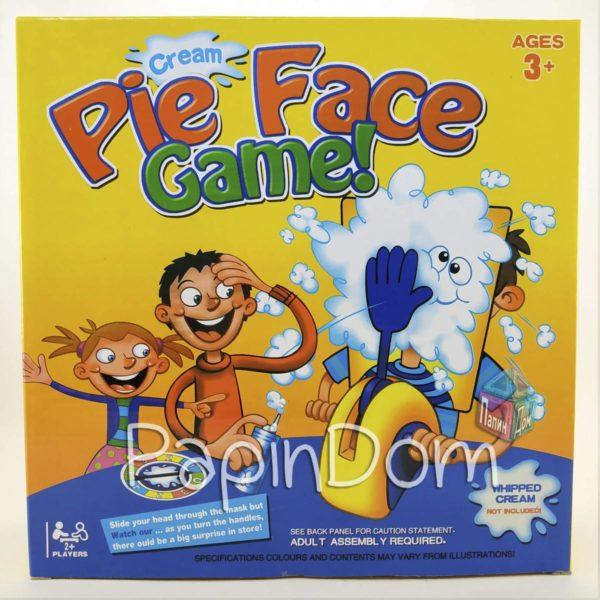 Настольная игра Пирог в лицо Pie Face (2лица) 1