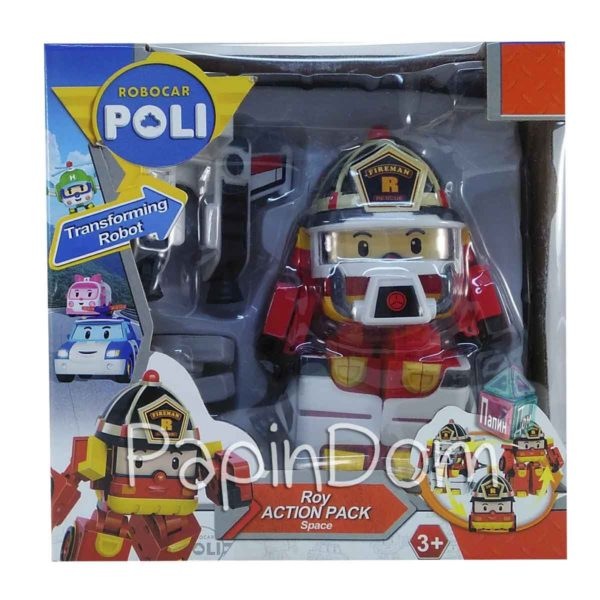Рой в костюме пожарника