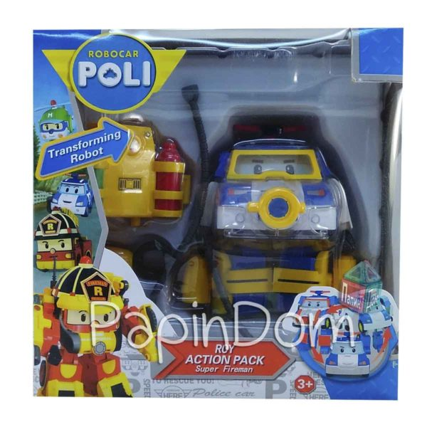Робокар Поли спасатель