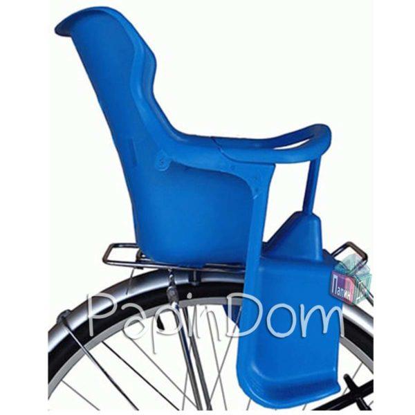 Сиденье детское на багажник велосипеда пластик