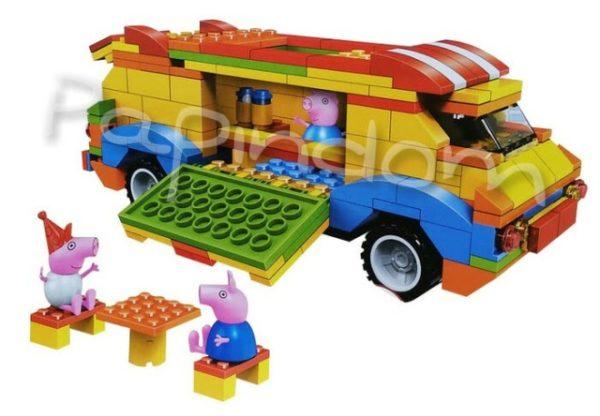 Машинка Лего Свинка Пепа