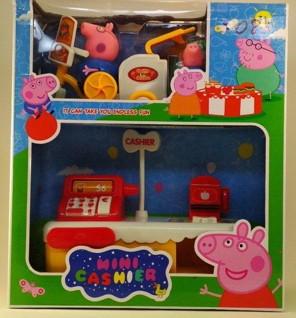 Магазин мороженного-касса Свинки Пепа