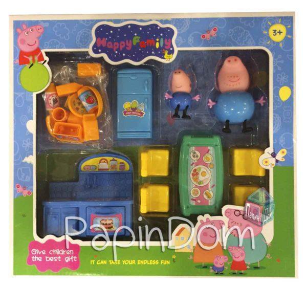 Свинка Пеппа Счастливая семейка Кухня