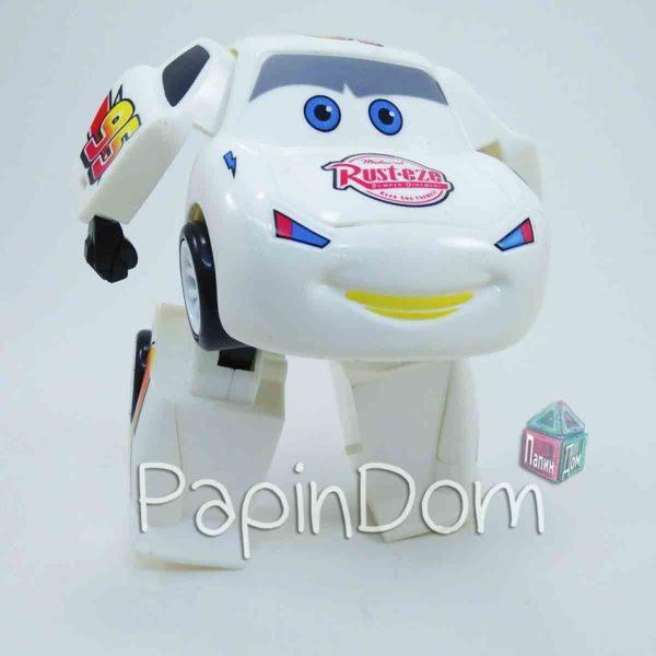 Робот-Трансформер Молния Маккуин Белый