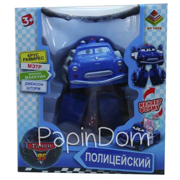 Робот-Трансформер Полицейский
