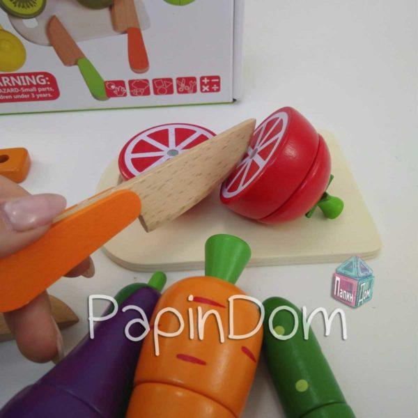 Деревянная игрушка Продукты