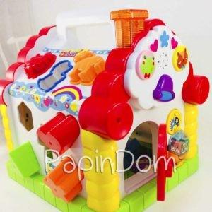 Hola Теремок-сортер Развивающая игрушка 9196