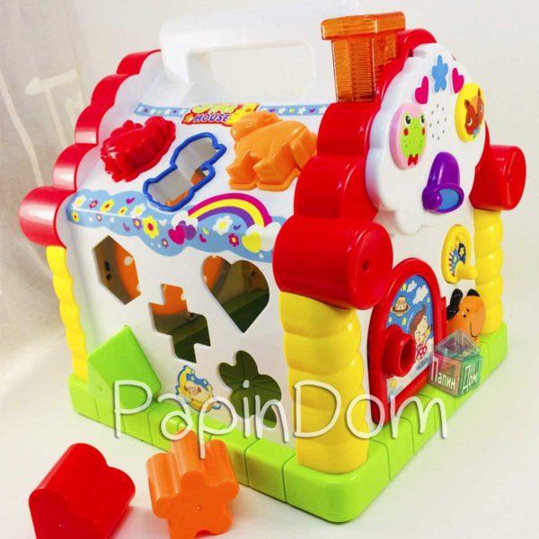 Детская игрушка Hola Теремок-сортер Развивающая игрушка 9196