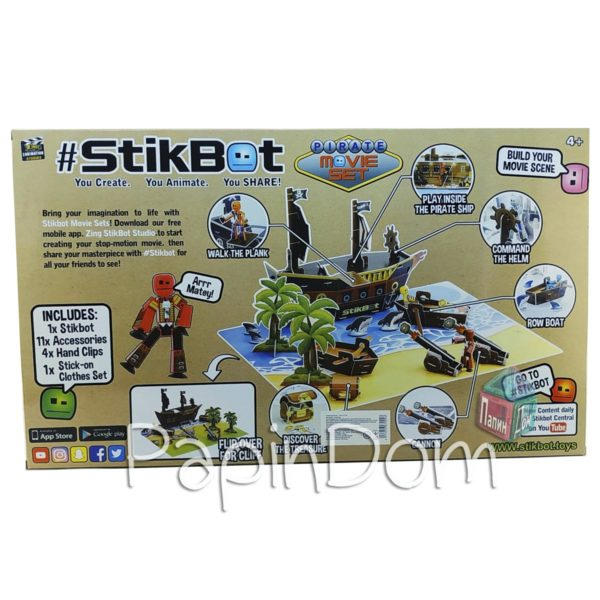 StikBot Пиратский корабль