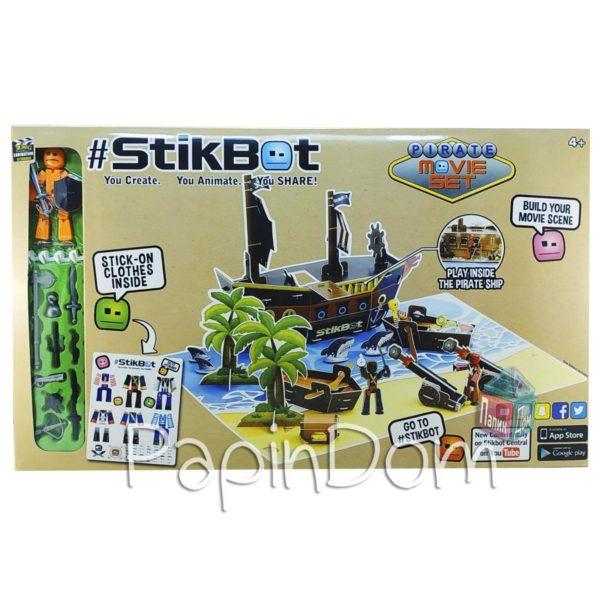 StikBot Анимационная студия Пиратский корабль 2110