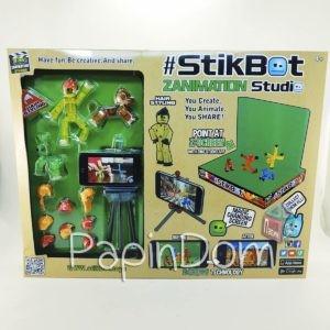 StikBot Анимационная студия Штатив+Сцена+Фигурки+прически 2119