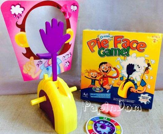 Настольная игра  Pie Face Пирог в лицо 4