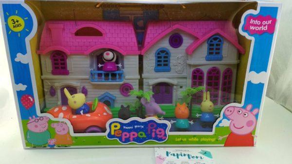 Домик свинки Пеппы с друзьями
