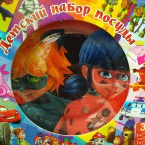 Набор детской посуды Lady Bag