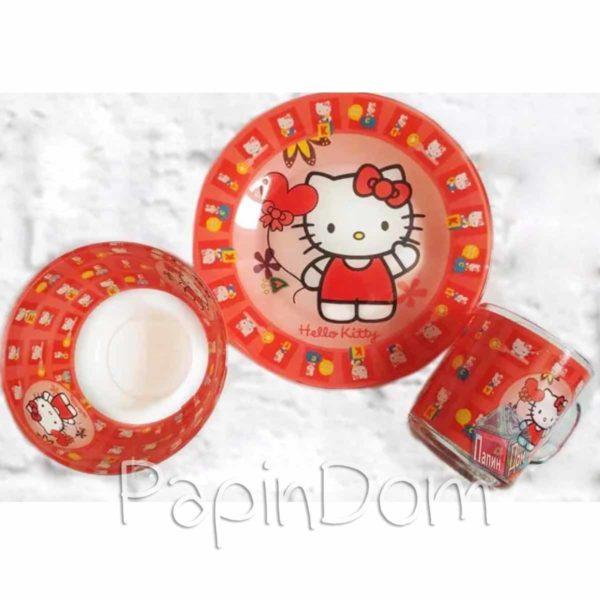 Набор детской посуды Хеллоу Китти Hello Kitty