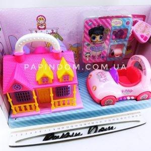 LOL Surprise домик+машинка