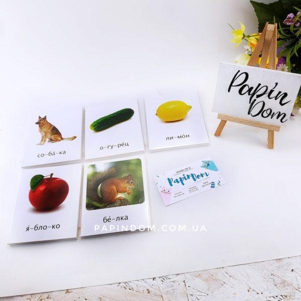 Карточки методика Домана