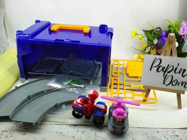 Щенячий патруль паркинг-чемоданчик