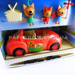 Три кота пикник на машинке