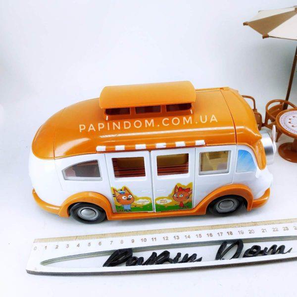 Три кота пикник на автобусе