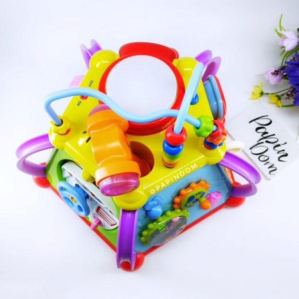 Hola Мультибокс музыкальная игрушка развивающая игрушка