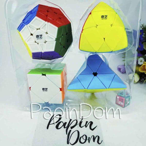 Набор Кубик рубика Luxurious пирамидки Qiyi Cube