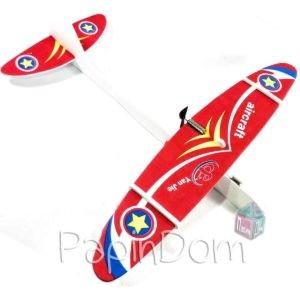 самолет с электромоторчиком