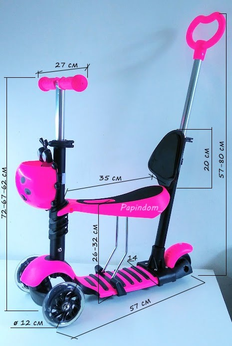 Самокат - беговел Best Scooter (ITrike) 5в1