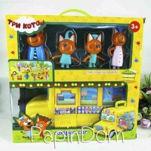 Три кота автобус школьный