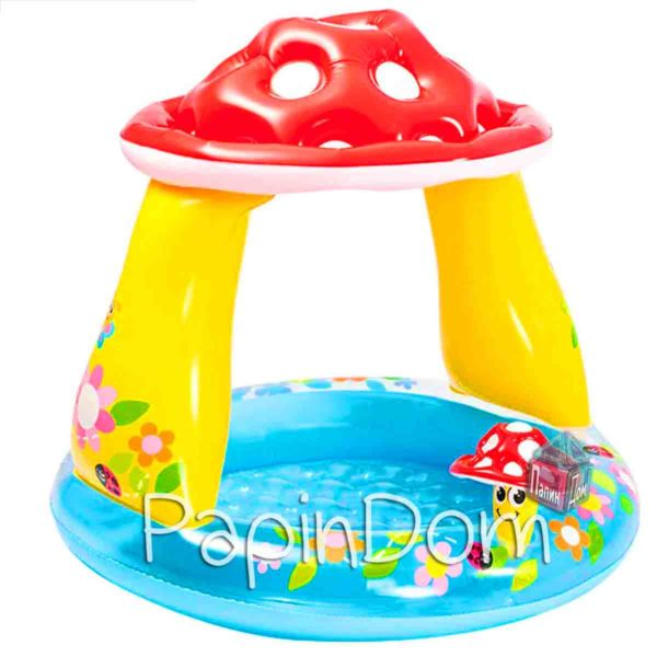 Надувной бассейн Грибок Intex 57114