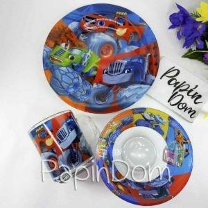 Набор детской посуды Вспыш